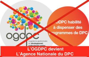 L'OGDPC devient l'Agence Nationale du DPC