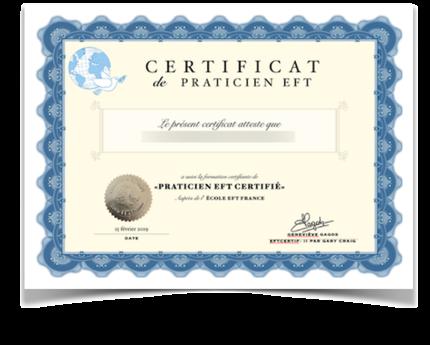 Formation de Praticien EFT Certifié