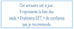 Praticiens EFT recommandés