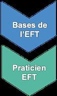 """Le Niveau Praticien EFT comporte les """"Bases EFT"""" et la poursuite de la formation avec les techniques indispensables au """"Praticien EFT"""""""